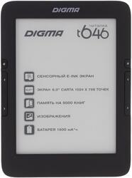 6'' Электронная книга Digma T646 черный