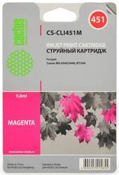 Картридж струйный Cactus CS-CLI451M