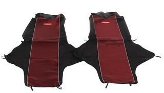 Авточехлы-майки AUTOPROFI CARBON CRB-802 красный