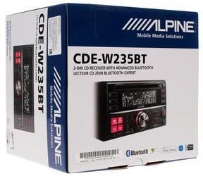 Автопроигрыватель Alpine CDE-W235BT