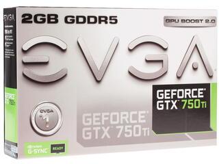 Видеокарта EVGA GeForce GTX 750 Ti [02G-P4-3751-KR]