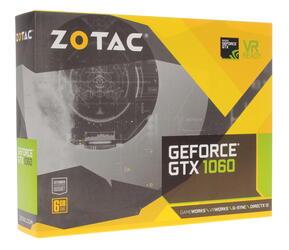 Видеокарта ZOTAC GeForce GTX 1060 Mini [ZT-P10600A-10L]