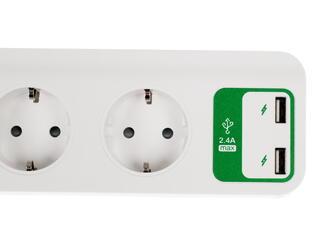 Сетевой фильтр APC Essential SurgeArrest PM5U-RS белый