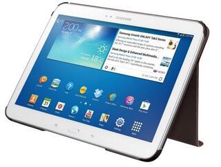 Чехол-книжка для планшета Samsung Galaxy Tab 3 коричневый