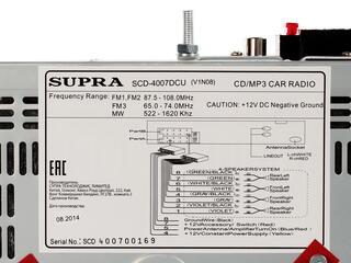 Автопроигрыватель Supra SCD-4007DCU