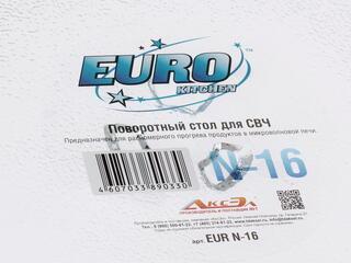 Тарелка-поддон EURO Kitchen EUR N-16