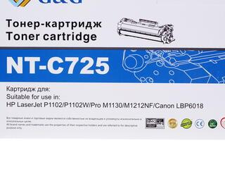 Картридж лазерный G&G NT-C725
