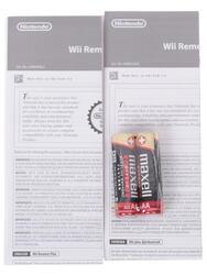 Игровой контроллер Nintendo Wii U Remote Plus черный