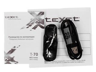Мультимедиа плеер teXet T-70 черный