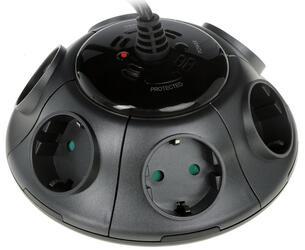 Сетевой фильтр Ippon BU-211GM черный