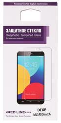 """4.5"""" Защитное стекло для смартфона DEXP Ixion ML145 Snatch"""