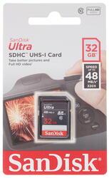 Карта памяти Sandisk ULTRA SDHC 32 Гб