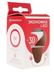 Лампа светодиодная Экономка LED 5W GL E1445