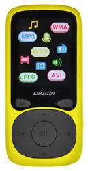 Мультимедиа плеер Digma Cyber B3 желтый