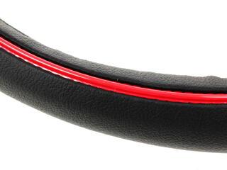 Оплетка на руль AUTOPROFI LUXURY AP-1080 черный
