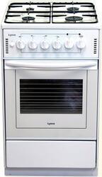 Газовая плита ЛЫСЬВА ЭГ-401 белый
