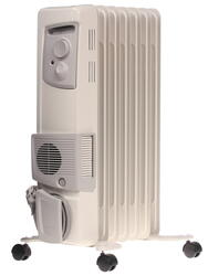 Масляный радиатор EWT OR115TLG белый