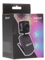 Веб-камера Dexp H-205M