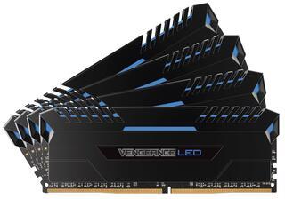 Оперативная память Corsair Vengeance LED [CMU32GX4M4C3200C16B] 32 ГБ