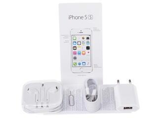 """4"""" Смартфон Apple iPhone 5S """"Как новый"""" 16 ГБ серебристый"""