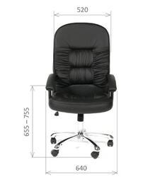 Кресло офисное CHAIRMAN 418  черный