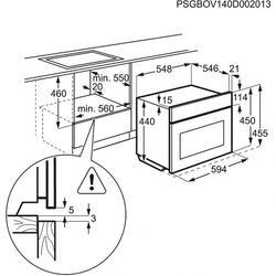 Электрический духовой шкаф Electrolux EVY0946BAX
