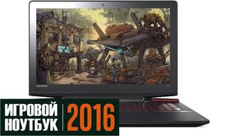 "15.6"" Ноутбук Lenovo Ideapad Y700-15ACZ черный"
