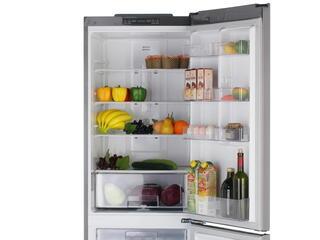 Холодильник с морозильником LG GA-B409SMCL серебристый