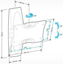 Кронштейн для телевизора Holder LCDS-5062