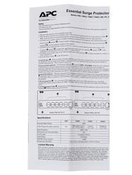 Сетевой фильтр APC Essential SurgeArrest PM5V-RS белый