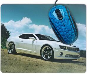 Мышь проводная CBR Sport Car