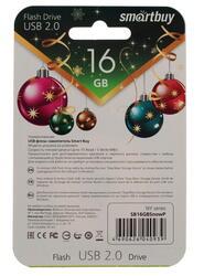 Память USB Flash Smartbuy NY series Снеговик Snow Paul 16 Гб