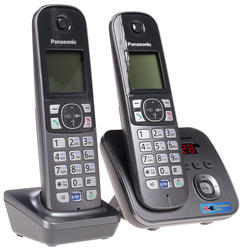 Телефон беспроводной (DECT) Panasonic KX-TG6822RUM
