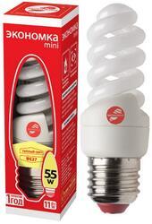 Лампа люминесцентная Экономка T2 SPC 11W E2727