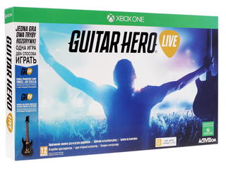 Гитара беспроводная Guitar Hero + Игра для XboxOne Guitar Hero Live