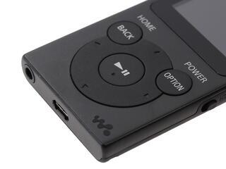 Мультимедиа плеер Sony NWZ-E393 черный