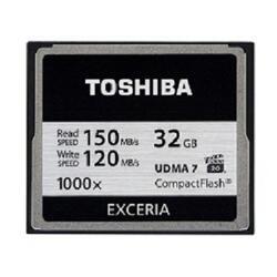 Карта памяти Toshiba EXCERIA Compact Flash 32 Гб