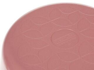 Кастрюля Frybest ROUND-C22-P розовый