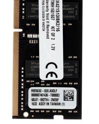 Оперативная память SODIMM Kingston HyperX Impact [HX421S13IBK2/16] 16 ГБ