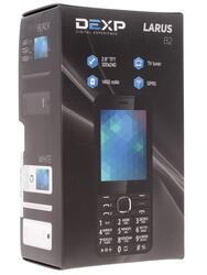 Сотовый телефон DEXP Larus B2 белый