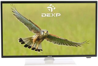 "22"" (55 см)  LED-телевизор DEXP F22B7000E/W черный"