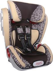 Детское автокресло Siger ART Индиго isofix коричневый