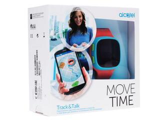 Детские часы-телефон Alcatel Move Time SW10 голубой