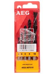 Набор сверл AEG DIN 7487E5