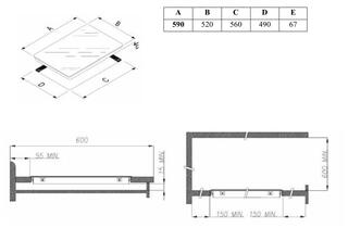 Электрическая варочная поверхность Weissgauff HV 6140 B
