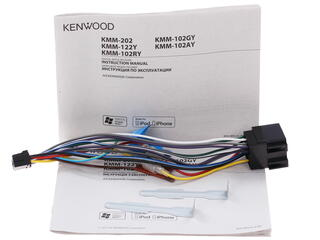 Автопроигрыватель Kenwood KMM-122Y