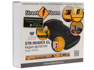 Радар-детектор Street Storm STR-9040EX GL