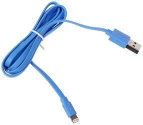 Кабель CANYON CNS-MFIC2BL USB - MFI Lightning 8-pin синий