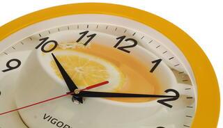 Часы настенные Vigor Д-29 Лимонный чай