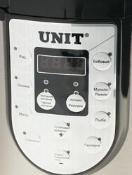 Мультиварка Unit USP-1200S серебристый